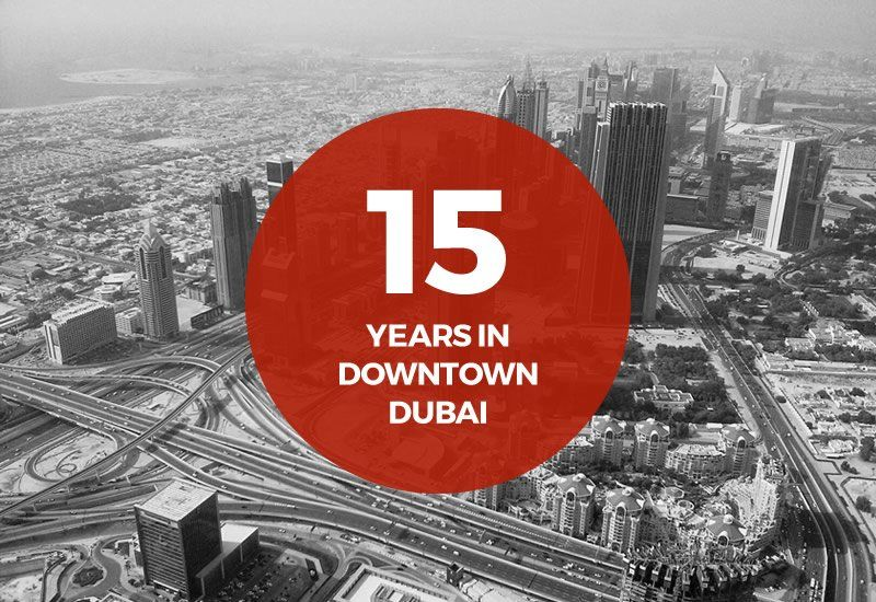 15 years in Dubai